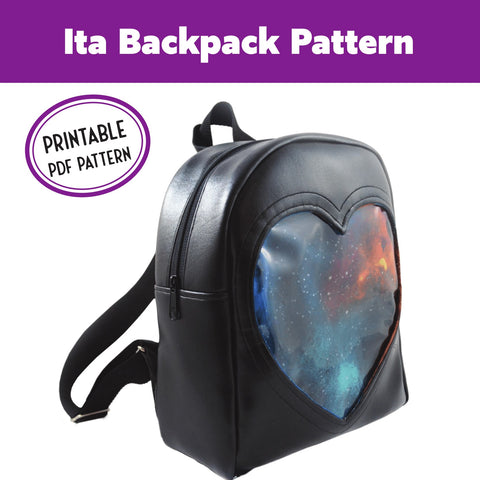 Ita Backpack Sewing Pattern PDF