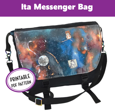 Ita Messenger Bag Sewing Pattern PDF