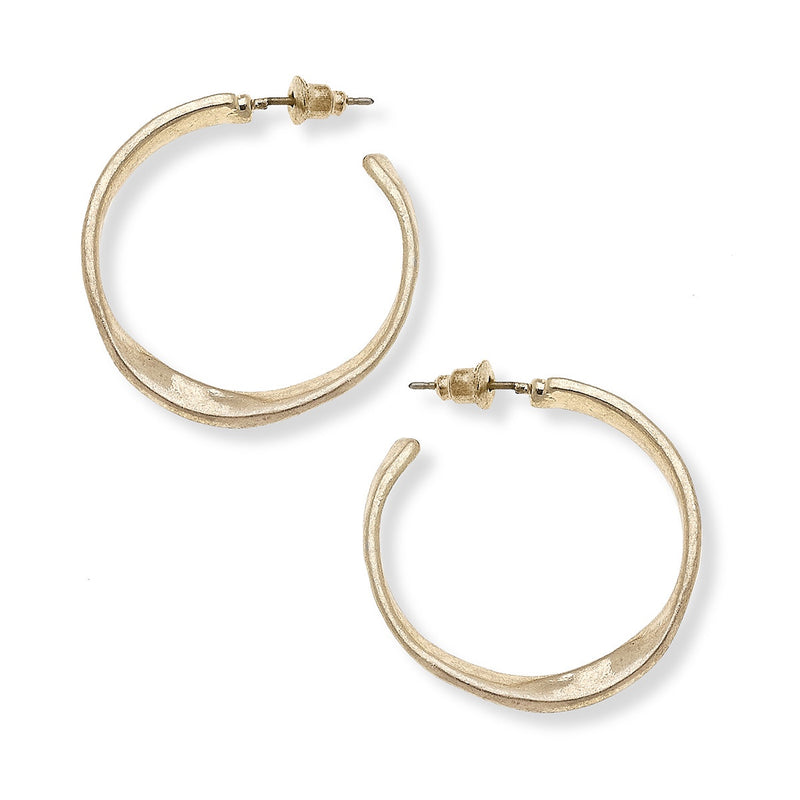 Cali Large Hoop Earrings