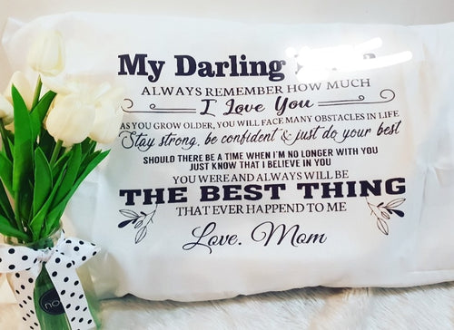Pillow cases personalised