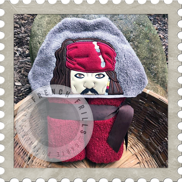 Jack Sparrow  Hooded Towel