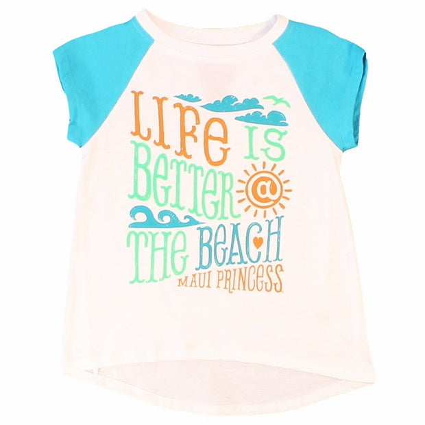 Better At The Beach Girls T-Shirts