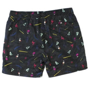 Funky Flamingo Pool Shorts