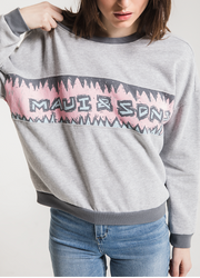 Shark Bite Womens Longsleeve