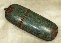 Antique Stingray Skin Eyeglass Case from Papua New Guinea