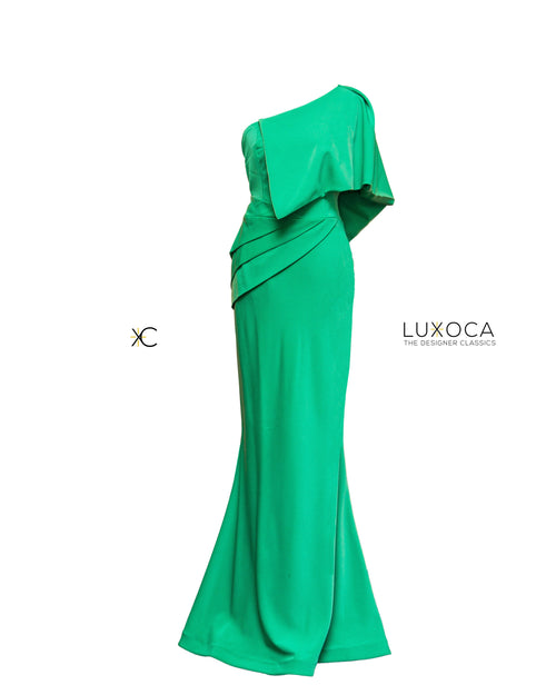 PISTIS Custom Made Green One Hand Gown