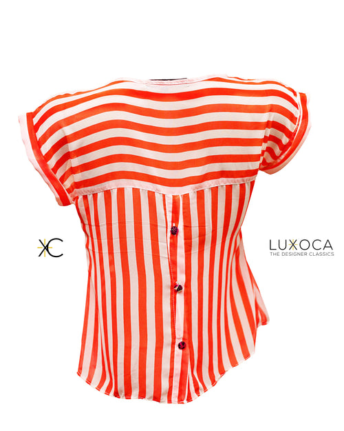 Poqua Poqu Stripe Top