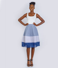 Diamond White Skirt