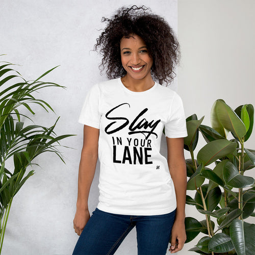 Slay in Your Lane Unisex Short Sleeve Jersey T-Shirt