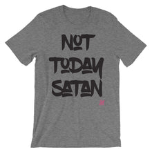 """Not Today Satan"" Unisex short sleeve t-shirt"