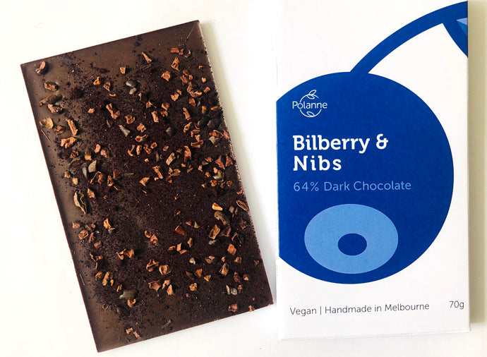 Bilberry and Nibs Chocolate