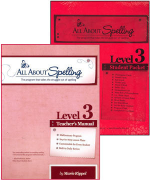All About Spelling Teacher / Student Combo Kit, Level 3