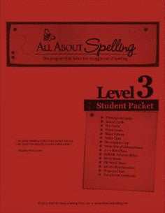 All About Spelling Student Material Packet, Level 3