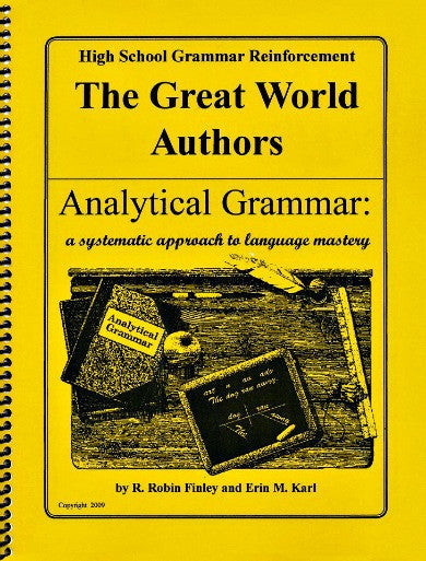 Analytical Grammar High School Reinforcement - World Authors