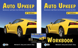 Auto Upkeep Homeschool Curriculum Kit, 4th Edition  (Textbook, Workbook, Resource USB)