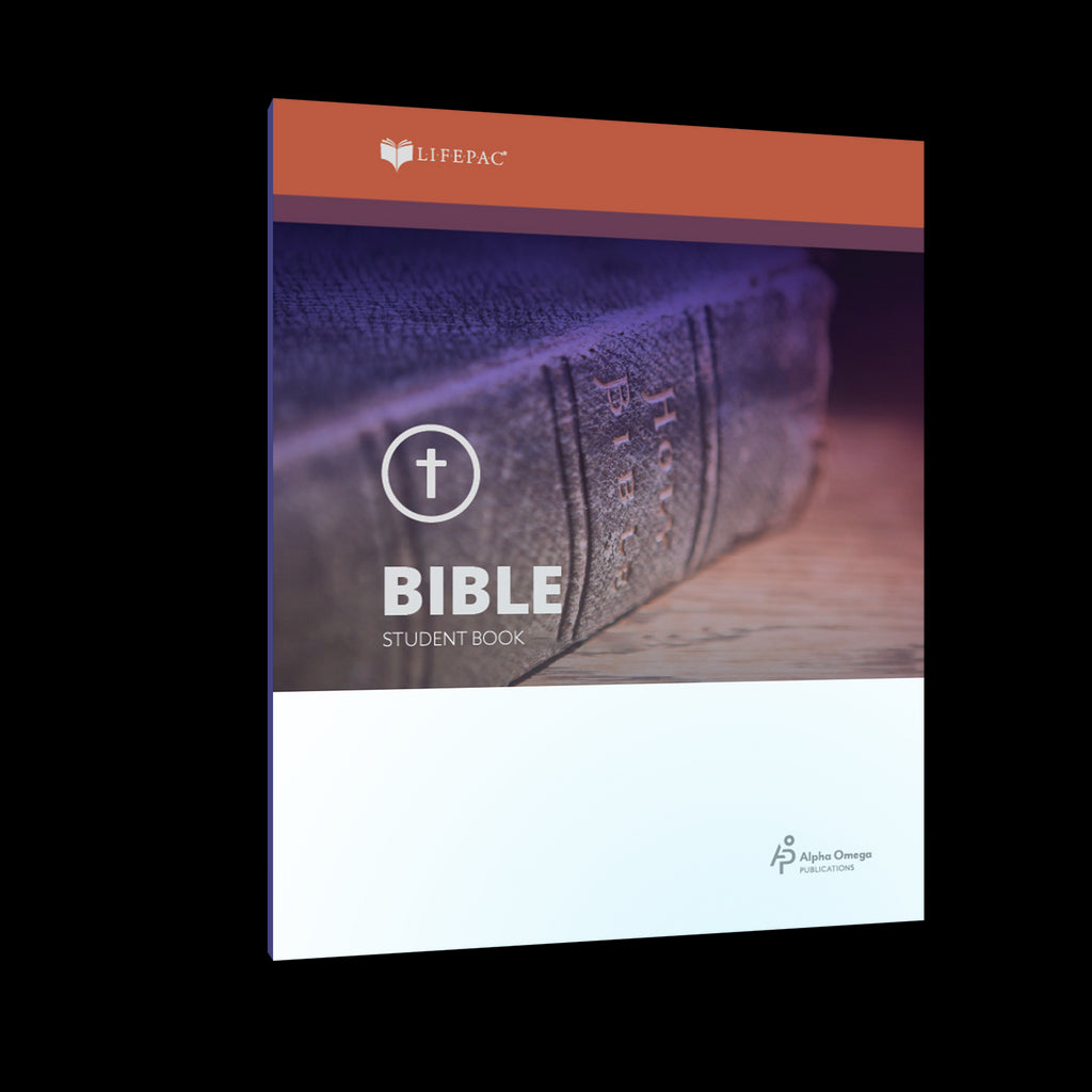 Alpha Omega LIFEPAC 10th Grade - Bible - Set of 10 Workbooks