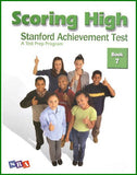 Scoring High on the Standard Achievement Test (SAT/10) Grade 7 Student Book
