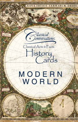Classical Acts and Facts History Cards: Modern World