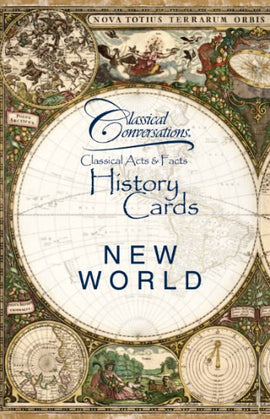 Classical Acts and Facts History Cards: New World