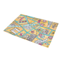 Hong Kong central entrance mat to offer as a travel gift, farewell gift to expatriate and tourist