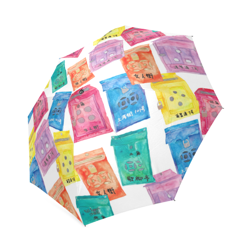 Hong Kong premium Gift by Petit Crayon Studio - Hong Kong Themed Umbrella Gift