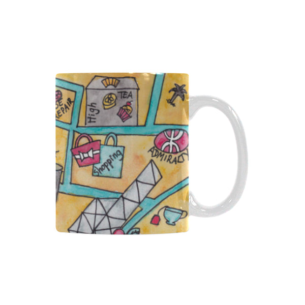 Hong kong Perfect gift, kitchen mug to offer, office mug, farewell present, 香港纪念品