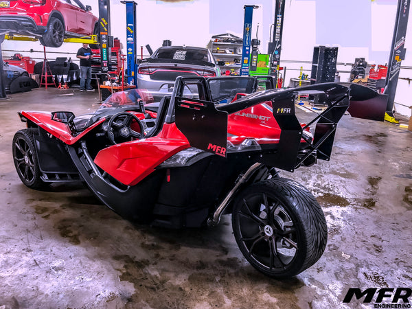 Polaris Slingshot Chassis Mounted Wing - MFR Engineering