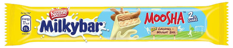 Nestle Milkybar Moosha Caramel + Nougat Bar (40gm)