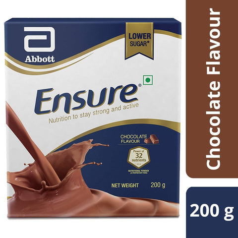Ensure Balanced Adult Nutrition Chocolate Flavor Box, 200gm