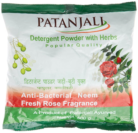 Patanjali Popular Detergent Powder - 500 g - Kirana - Online Shopping Nepal