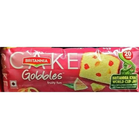 Britannia Gobbles Fruit Cake, 90gm
