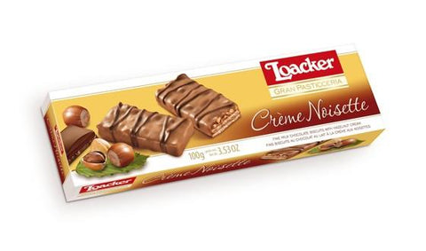 Loacker Gran Pasticceria Crème Noisette Chocolate, 100gm