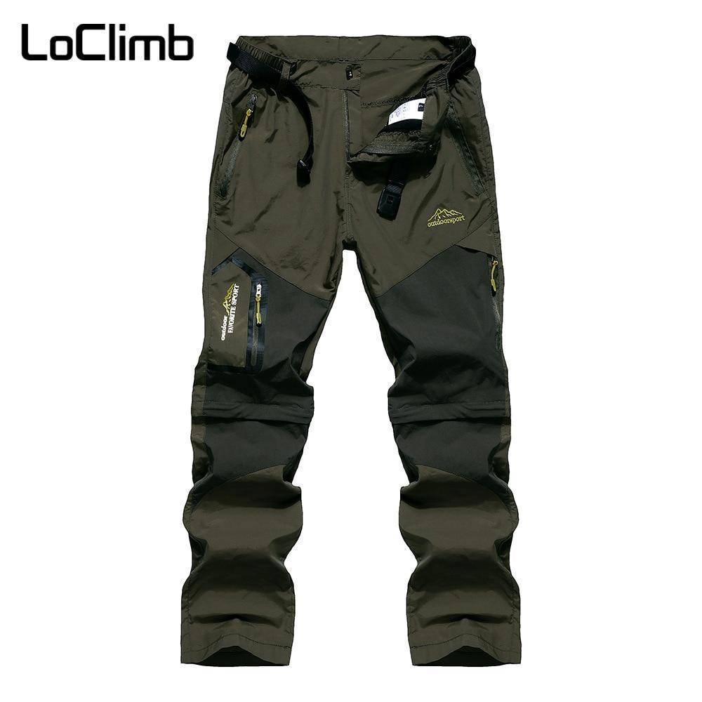 Quick Dry Trousers For Camping Hiking Pants For Men Women