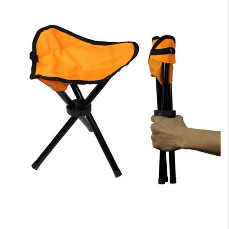 Portable Outdoor 3 Legs Tripod Folding Stool
