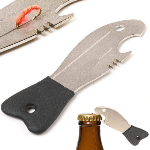 Image of Fish-Trapp Accessories 2 Pcs Fishing Hook Hone And Bottle Opener