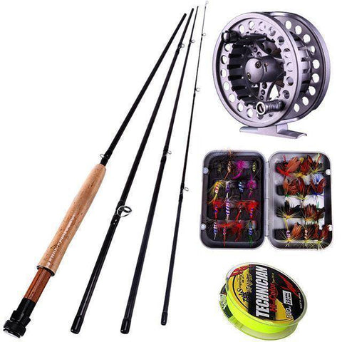 Image of Fish-Trapp Combos White Fly Rod and Fly Reel Combo Deal