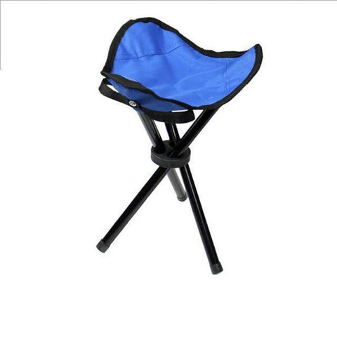 Image of Portable Outdoor 3 Legs Tripod Folding Stool
