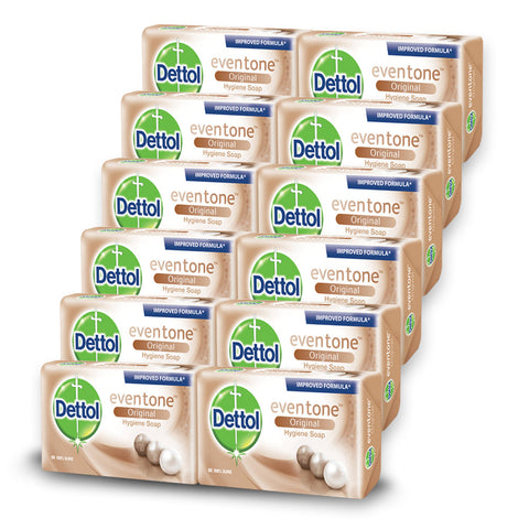 Dettol Soap Evertone Original (12 Pack) - Cantomart.co.za