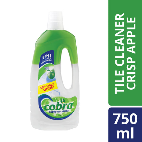 Cobra Active Tile Cleaner crisp apple - 750ml - Cantomart.co.za
