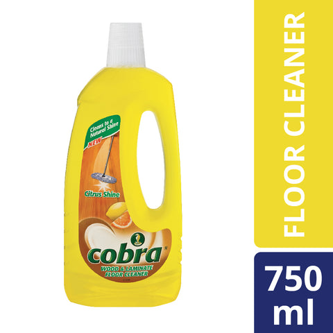 Cobra Laminate Cleaner Citrus - 750ml - Cantomart.co.za