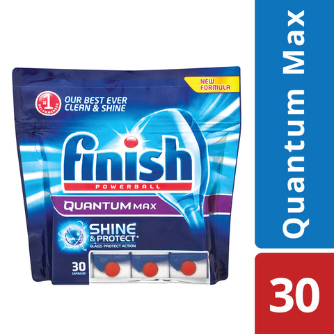 Finish Quantum Dishwashing Tablets - 30's - Cantomart.co.za