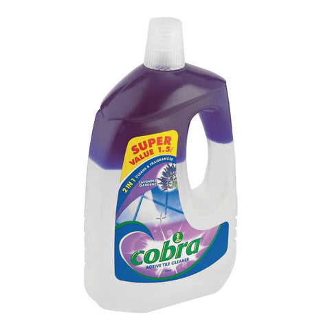 Cobra Active Tile Cleaner gardens of lavender - 1.5lt - Cantomart.co.za
