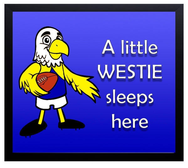 Kid's Room Sign - Westies