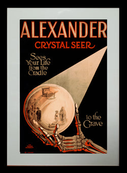 Magic Poster Print - Alexander The Crystal Seer