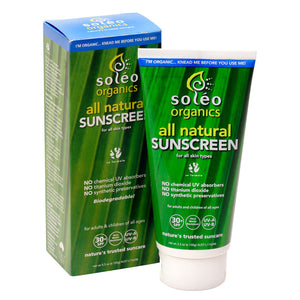 All Natural Sunscreen SPF 30+