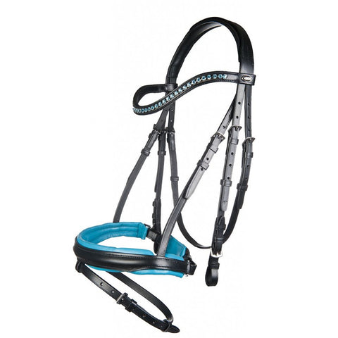 HKM Colour Padded Bridle