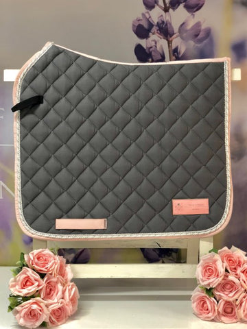 House Of Horses Helsinki - Dressage Pad Smoked Pearl Grey