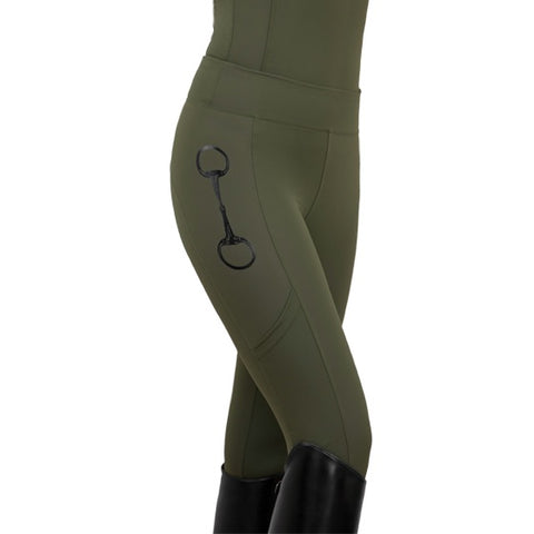 HorseGloss Olive Leggings
