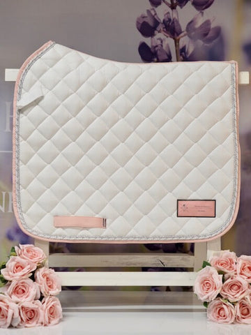 House Of Horses Helsinki - Dressage Pad Pure White