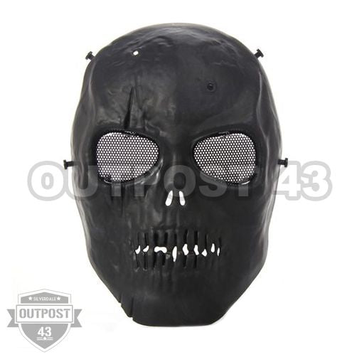 OP43 Zombie Skull Airsoft Full Face Mask